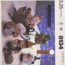 8134 McCall's -- Hugachums Christmas Package *