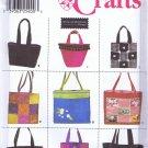 9963 Simplicity -- Bags, Purses, Totes *