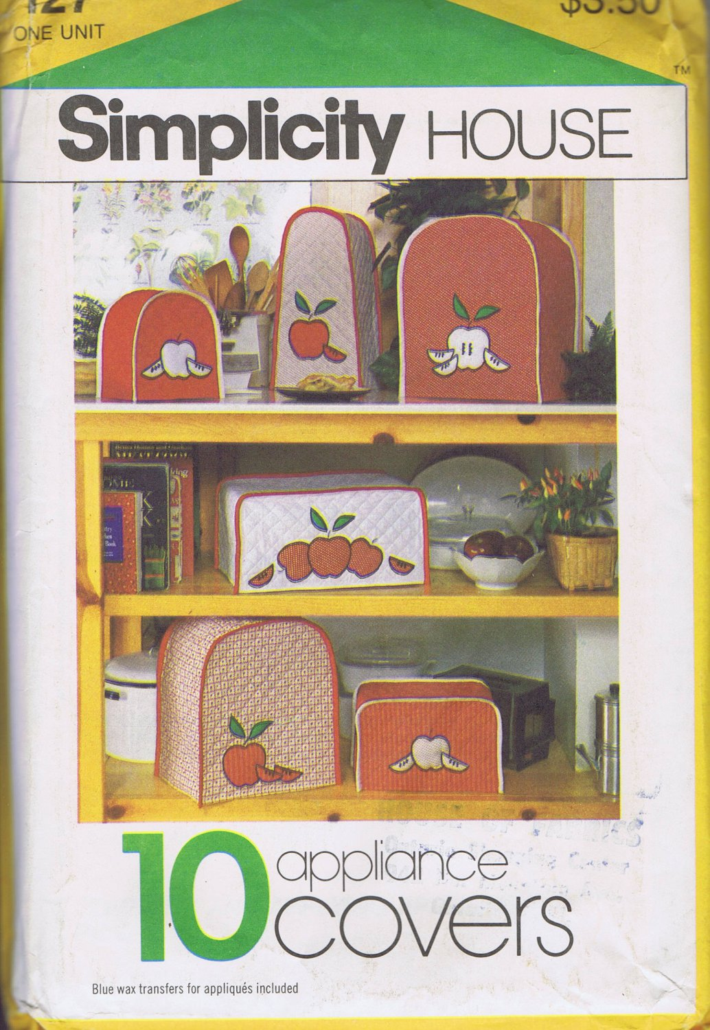 127 Simplicity -- Kitchen Appliance Covers *