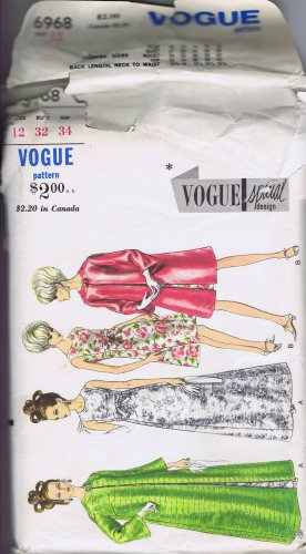 6968 Vogue -- Vintage Evening Gown *