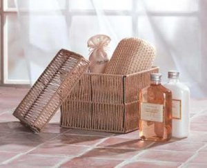 Vanilla Milk Bath Basket