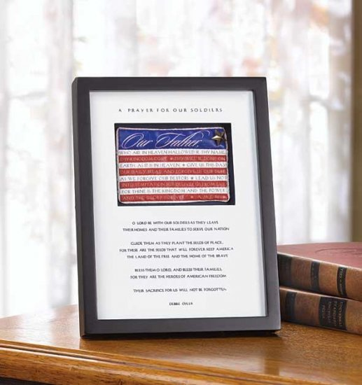 SOLDIER`S PRAYER SHADOWBOX