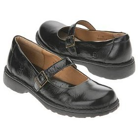 BORN DALEY Mary Janes GIRLS shoes BLACK PATENT 1.5 33
