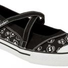 SKECHERS sketchers Kanz Summertide SKULLS mary janes 10
