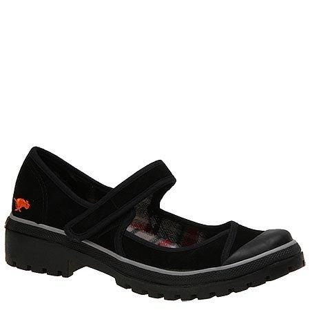 Rocket Dog EMBASSY black SUEDE women's shoes Size 7.5