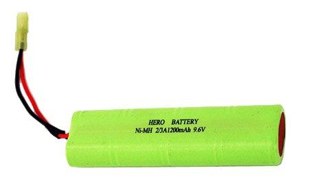9.6V Ni-MH battery