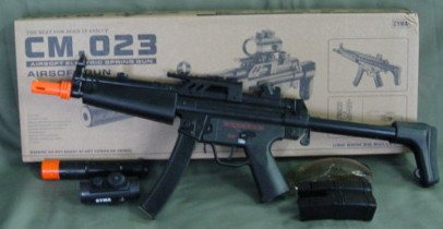 MP5 A5 Submachine Gun with 2 Clips