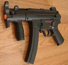 Metal Gearbox MP5K AEG