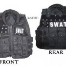 7 SWAT Modular black tactical vests