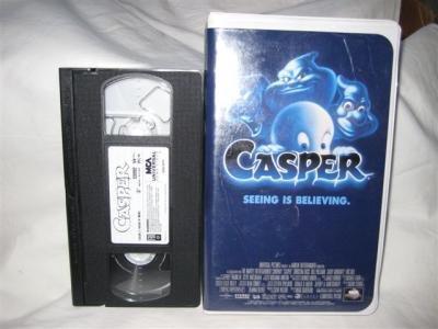 Casper VHS Tape Movie