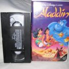 Walt Disney's Aladdin VHS Tape movie