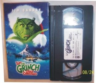 Dr. Seuss How The Grinch Stole Christmas VHS Carrey