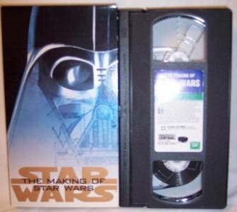 The Making Of Star Wars VHS Tape Sci Fi