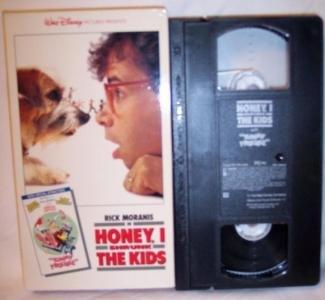 Walt Disney Honey I Shrunk The Kids VHS Tape Moranis