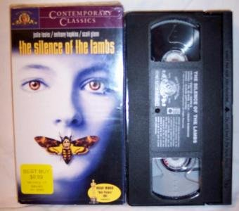 The Silence Of The Lambs VHS Tape Foster Hopkins
