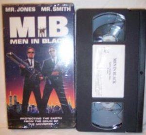 MIB Men In Black VHS Tape Tommy Lee Jones Will Smith