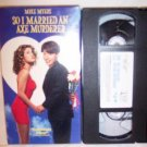 So I Married An Axe Murderer VHS Tape Mike Myers Comedy