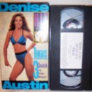 Denise Austin Hit The Spot Thighs VHS Tape