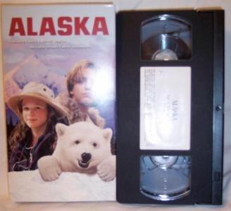 ALASKA VHS Tape Family Adventure Movie