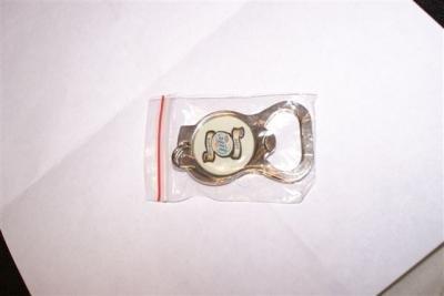 Miller Lite Beer Sturgis 2006 keychain bottle opener