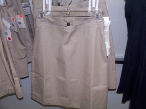 A Line Skirt with Heart Shaped Belt 15/16