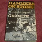 Hammers on Stone: The History of Cape Ann Granite (0844662933)