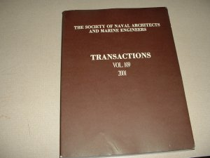 Transactions Vol. 109 - 2001 (Society of Naval Architects and Marine Engineers)