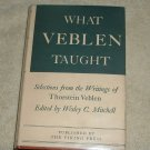 What Veblen Taught