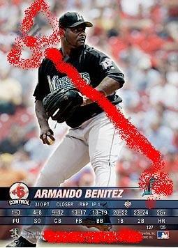 Armando Benitez 2005 base set