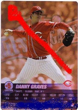 Danny Graves(allstar game) 2004 pennant run