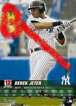 Derek Jeter 2004 base set