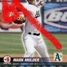 Mark Mulder 2005 base set