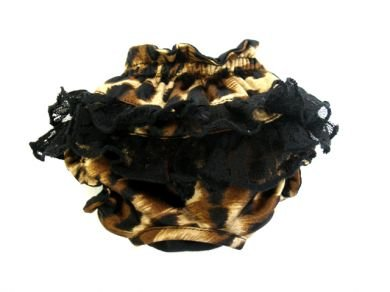 Leopard and Lace dog Panties XXSmall