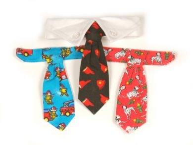 Sale Dog Fireman  Gift Set and Dog Collar Medium