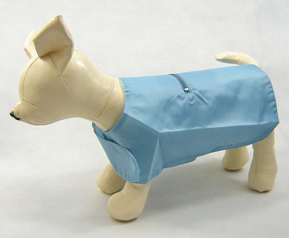Blue Dog Raincoat small