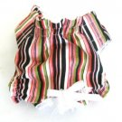 Good & Plenty Stripe Puppy Panties Dog Panties Medium