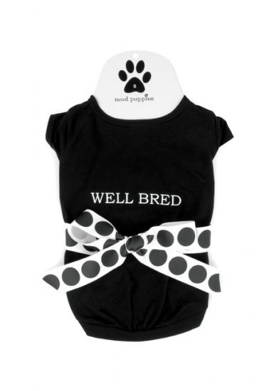 Well Bred Dog T Shirt by Mud Pie Small