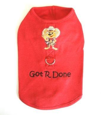 Got R Done Harness-T Large Dog Shirt