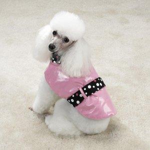 Sale East Side Collection Rain & Shine Dog Coats Small
