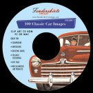 Vintage Retro Classic Car Images Clip Art Clipart CD