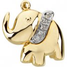 Ellie the Elephant Waggle™ Pendant