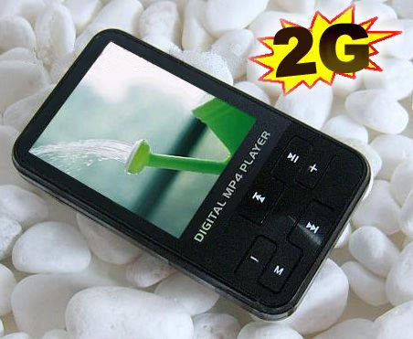 2.0 INCH TFT SCREEN 1GB MP3/MP4/REC/FM DIGITAL PLAYER