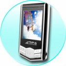 1.8 Inch Screen 2G MP4 / MP3 Video / Audio Player with Earphone
