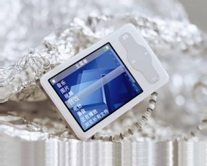 2.0 inch 2GB Mp4/MP3/REC/FM with outside speaker TFT screen, White
