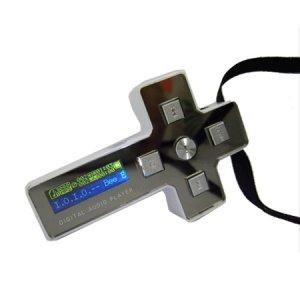 2GB USB SAMSUNG FLASH MP3---TRENDY i-Cross NECKLACE