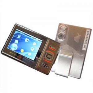 2M Pixel 2.4-inch LCD MP4 Player 1GB Metal casing SD Slot