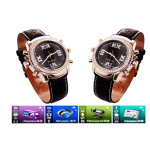 1GB MP3 Watch FM receive function support MP3 and ADPCM