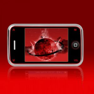 2.4 inch 4G mp4, 260K true color, 320*240 Pixels LCD display, imitated inductive button