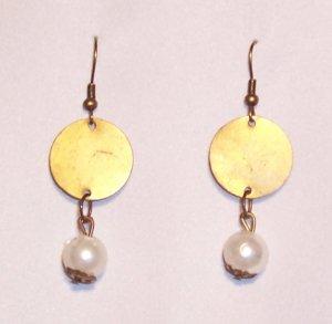 Grecian Medal Earrings