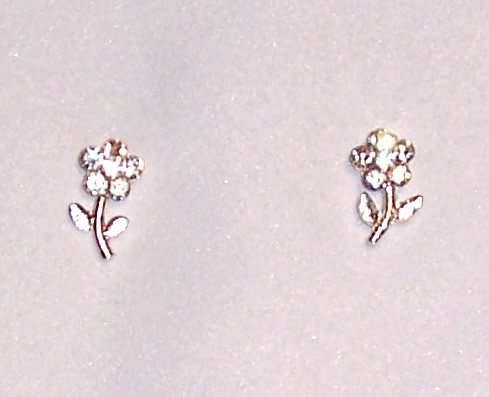 Flower Sparkle Earrings